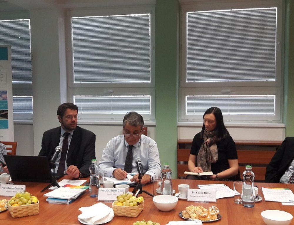 Kick-off meeting of International Advisory Board