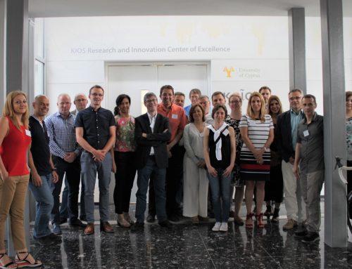 Teaming club meeting in Nikosia